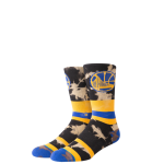 Stance NBA Arena Warriors Acid Wash