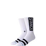 Stance Uncommon Solids OG White Socks