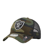 New Era Oakland Raiders Trucker Camo Adjustable