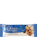 Quest baltyminis batonėlis Blueberry Muffin