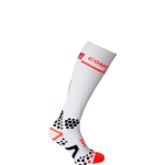 Compressport V2 Full Socks White Noir