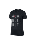 Nike Dry Run All Out Tee W