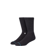 STANCE socks Icon Black White