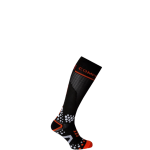 Compressport V2 Full Socks Black Noir