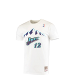 Mitchell & Ness NBA Utah Jazz John Stockton name and number Print T-shirt