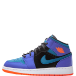 Air Jordan 1 Mid Racer Blue GS Kids