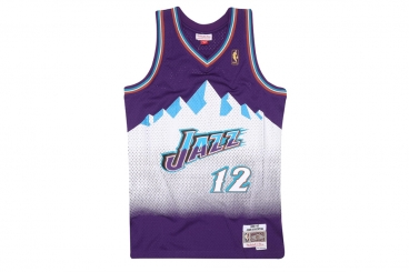 Mitchell & Ness NBA Jazz John Stockton Swingman Jersey
