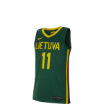 Nike Lithuania Sabonis Road Jersey