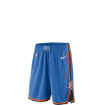 Nike NBA Swingman Icon Shorts Thunder Kids