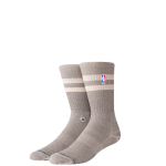 Stance NBA Hoven Crew Tan