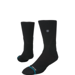 Stance Basketball Hoops Icon Crew Black