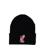 Mitchell & Ness NBA Miami Heat Team Logo Beanie